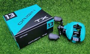 13 Fishing One 3 Origin TX 7.3:1 Left Hand Baitcast Fishing Reel - OTX7.3-LH