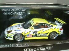 1/43 PORSCHE 911 GT3 RS. #90 2006 LE MANS,JONSSON,BERGMEISTER,KROHN, MINICHAMPS