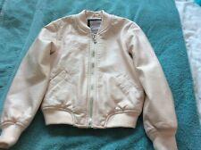 Girls Imitation Leather Jacket  Age 6-7 Years   F&F
