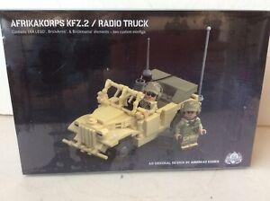 Brickmania WWII German AK KFZ.2 / Radio Truck Kit New Mint In Box Sealed