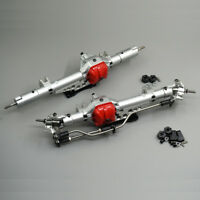 Complete Alloy CNC Front  & Rear Axles For Axial Wraith 90018 1/10 RC Crawler