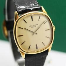 PATEK PHILIPPE CUSHION CASE 3844 18K YELLOW GOLD MANUAL WIND UNISEX WATCH