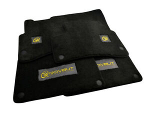 Floor Mats For Mercedes Benz With ROVBUT Limited Edition Emblem Carbon Carpets
