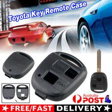 For Toyota Key Remote Case Shell Blank RAV4 Prado Tarago Corolla Kluger Avensis