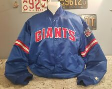 Vintage Starter New York Giants Jacket Men's XL 80s Blue Authentic NFL