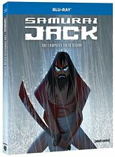 SAMURAI JACK - SEASON 5 -  BLU RAY - Sealed Region free for UK