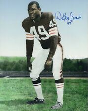 WALTER BEACH CLEVELAND BROWNS SIGNED 8x10 (OSG COA)