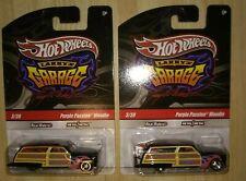 Hot Wheels Larry's Garage Purple Passion Woodie 3/39 Signature Series Lot - 2