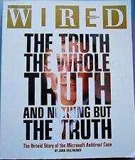 Wired Magazine November Nov 11 2000 Microsoft Antitrust Case Bill Gates Luvyplex