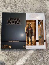 Star Wars The Black Series Mandalorian The Armorer Deluxe Figure MOC Hasbro Read