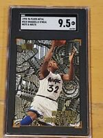 1995-96 Fleer Metal #215 Shaquille O'Neal SGC 9.5  Newly Graded