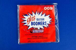 GHS Guitar Boomers Gitarrensaiten Satz Set Extra Light E Gitarre