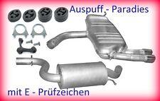 Abgasanlage Auspuff Schalldämpfer VW Golf V 2.0 GTi Fließheck 1K1 200&230PS +Kit