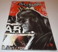 Batman Arkham City Special Issue #1 Comic DC VARIANT 1st Print First Amazon Game