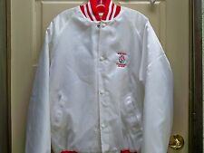 Rose Bowl Tournament of Roses Women's White Red Puffer Jacket Size XL