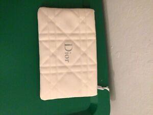 Dior Creme Makeup Bag