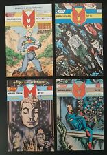 Set 4 Eclipse Comics MiracleMan No 9 10 12 & 13 by Alan Moore dated 1986 or 1987