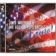 NEW CD ENCORE! 2004 JOHN WILLIAMS AND THE BOSTON POPS ORCHESTRA 2 CD OST