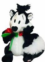 "Hallmark Warner Bros Talking Pepe Le Pew with Rose Stuffed Plush Soft Toy 12"""