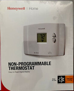 Lot Of 4 Honeywell Home RTH111B Digital Non-Programmable Thermostat, Heat/Cool