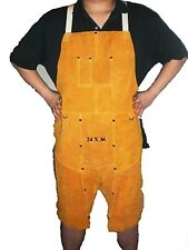 """Welding leather long apron with split leg 36"""" (big sales for clearance)"""