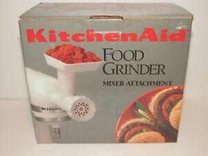 KitchenAid Food & Meat Grinder Stand Mixer Attachment NIB Vintage FGA NEW