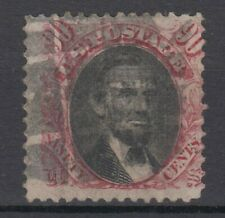 US  # 122  F used 1869 series , 90 cents cv= $ 2000