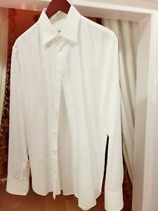 Men's Armani Collezioni Cotton shirt Sz Large  16/32-33 Retails for $315 + Tax.
