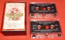 ONLY CHRISTMAS ALBUM YOU'LL EVER NEED - UK CASSETTE TAPE X 2 - VARIOUS ARTISTS