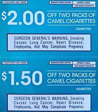 CAMEL COUPON/S $3.50 TOTAL