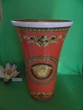 % Vase  34 cm   Medusa Red  Versace von  Rosenthal  %