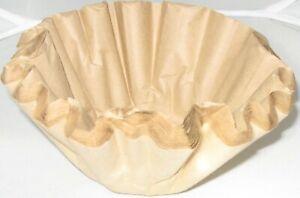 100 Papier- Korbfiltertüten f. Kaffeemaschine ca. 245/85 + 4 Reinigungstabletten