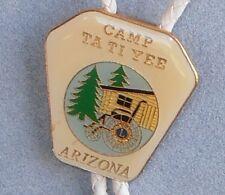 Vintage Bolo Tie - Camp Ta Ti Yee Arizona (Lions Club) Tatiyee