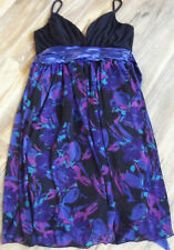 Regular Size Geometric Polyester Tea Dresses for Women