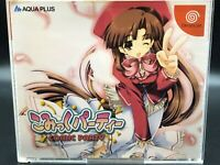 comic party (sega dreamcast,2001) from japan #1023