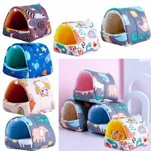 Squirrel Small Animal Sleeping Bed Warm Mat Hamster House Guinea Pig Nest