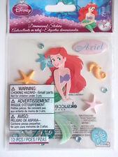 DISNEY DIMENSIONAL STICKERS - ARIEL the little mermaid