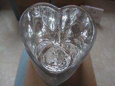 Partylite Tealight Holder ~ Warm Hearts ~ Nib Valentine's Day Valentines