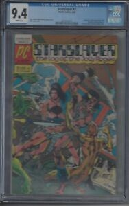 STARSLAYER #2 CGC 9.4 NM 1ST APPEARANCE OF THE ROCKETEER DISNEY