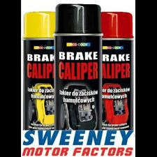 DECO COLOR BRAKE CALIPER DRUM PAINT SPRAY GLOSS MOTO RED BLACK BLUE YELLOW WHITE
