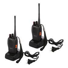 2PCS Portable Baofeng BF-666S 5W UHF 400-470 MHz Two-way Radio Walkie Talkie