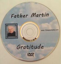 "Father Martin ""Gratitude"" AA ALCOHOLICS ANONYMOUS DVD FREE SHIPPING RARE"