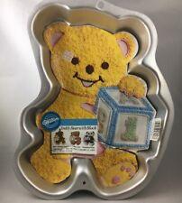 Wilton Teddy Bear Cake Pan Mold insert 2105-8257 Panda birthday cake C5