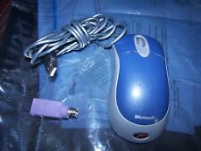 Microsoft Mouse Blue USB and PS2 Compatible Optical X802652-001