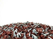 Selbstbohrende Trapezblech Schrauben 500 St. Größe 4,8 x 50 mm RAL 3009 Oxidrot