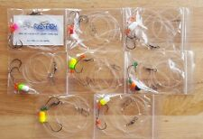 8 - Surf Fishing Rigs for Pompano, Whitings, Croakers, Flounder, Snapper, Etc