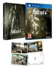 Fallout 4 with Steelbook & Postcards ps4 NEW / SEALED - 1st Class Delivery