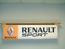 Renault Sport BANNER Car Garage Workshop show display Megane 256 Clio 200 turbo