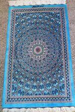 Persian silk carpet/rug qom/qum handmade 100% pure silk with sign/ Authentic Qom