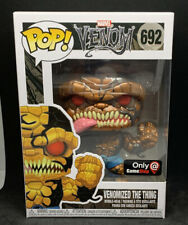 Funko Pop! Venomized The Thing #692 Metallic Chase Gamestop Friday Exclusive